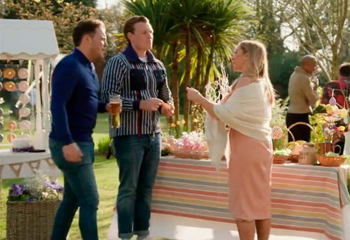 Sorrento Tablecloth featured in ITV TOWIE